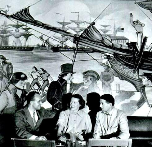 Mid Century Maritime HH Main Brace 1942
