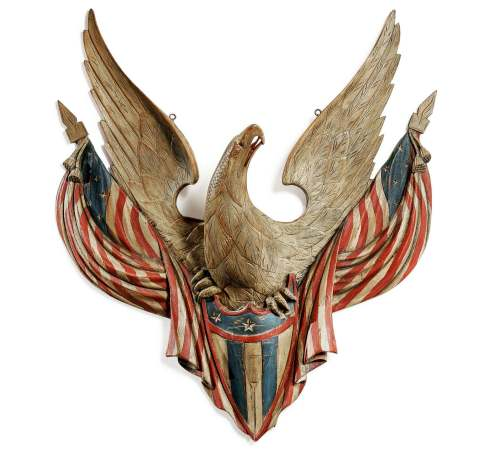 Folk Art Eagle