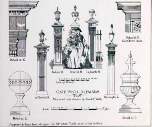 Salem Prints Georgian Period Details Vol 1 1899