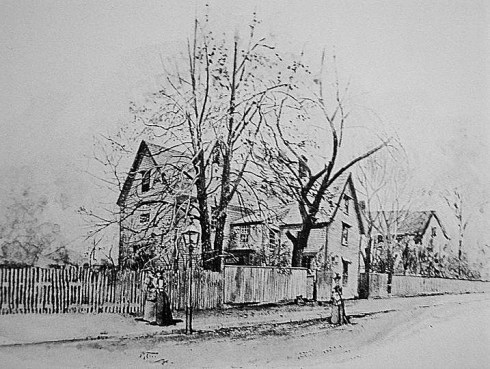 Salem Prints John Turner House, Drawing Circa 1899