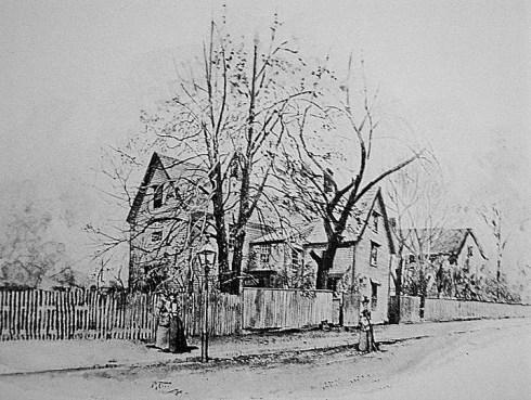 Salem Prints John Turner House, Drawing Circa 1899