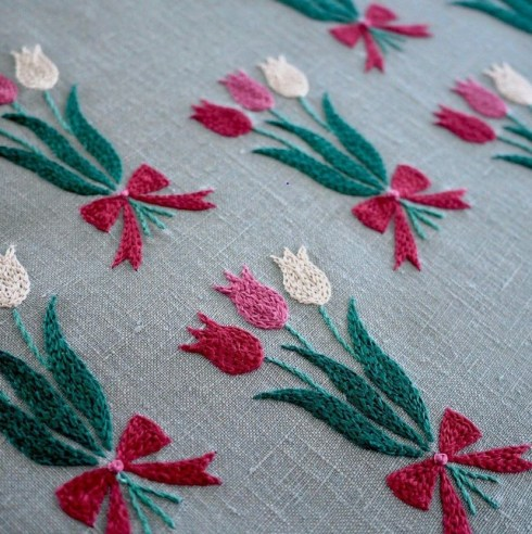 Embroidery Tulips (2)