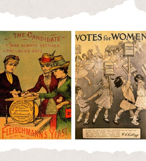 Suffrage Ad Collage