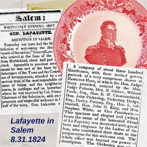 Lafayette in Salem Collage