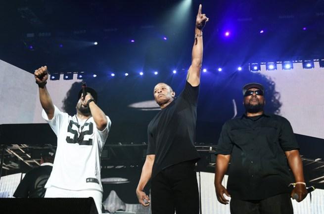 NWA Reunites At Coachella