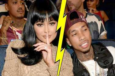 KYLIE AND TYGA SPLIT