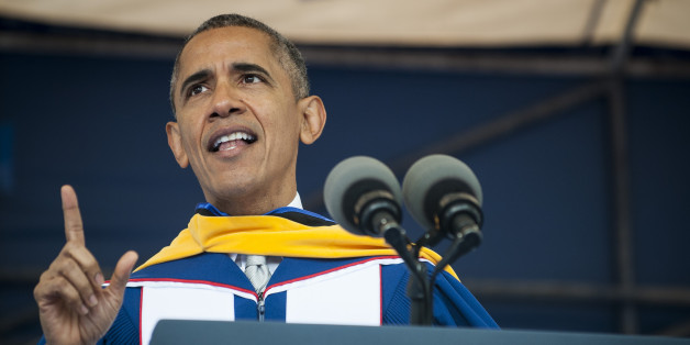 Obama Gives Speech at Howard University