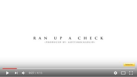 [Video] Bankroll Fresh 'Ran Up a Check'