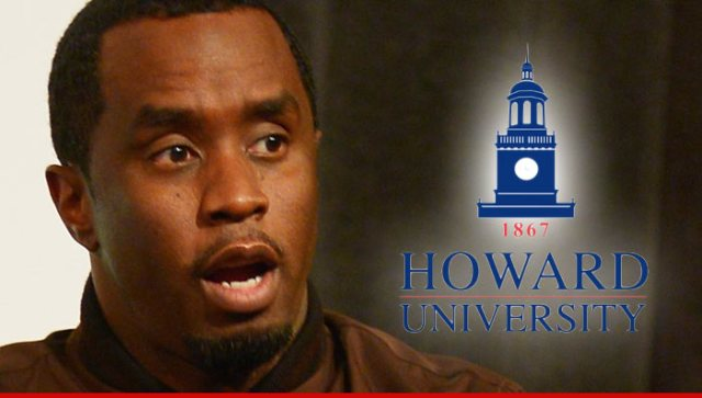 Diddy Opens Scholarship Fund At Howard