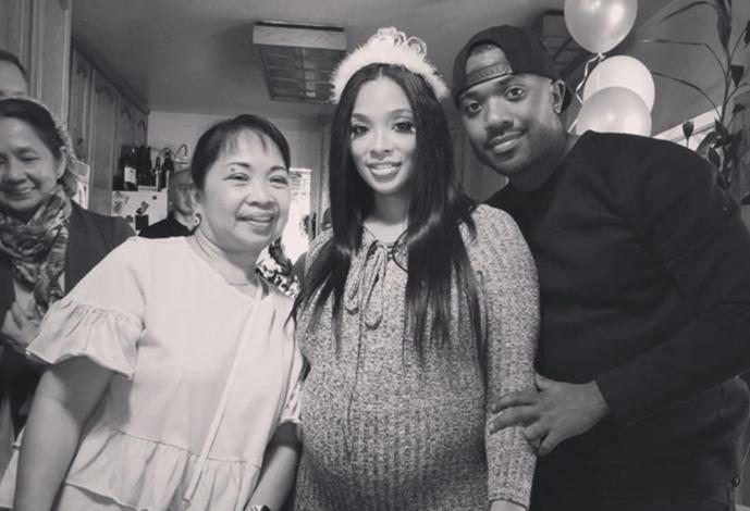 Ray J And Princess Love Welcome Baby Girl
