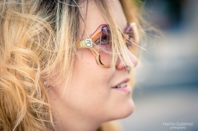 Anitta Ruiz gafas vintage en street style madrid