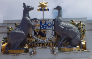 Australian Coat of Arms by Street Talk Savvy as found in Australian Slang