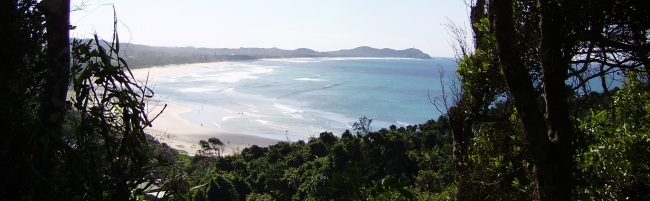 Byron Bay from Broken Head by Street Talk Savvy as found in Australian Slang