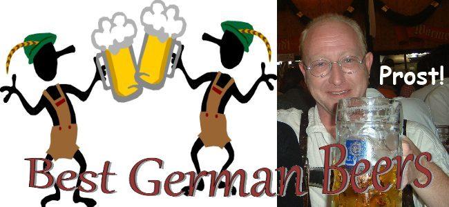 Best German Beers as found in Street Talk Savvy