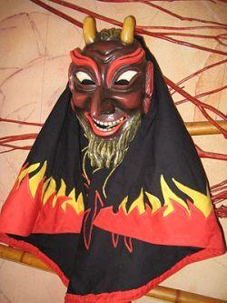 Fastnacht mask in Swabia