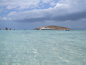 foto taken in formentera, playa illetas with m...