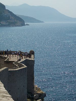Walls of Dubrovnik (Croatia)