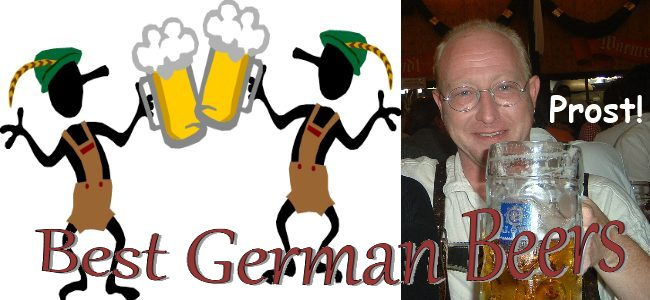 Best German Beers as found in Street Talk Savvy