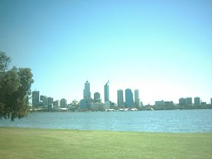 English: skyline of Perth