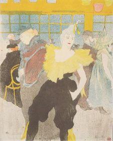 Toulouse-Lautrec - Die Clownesse Cha U-Ka o im...