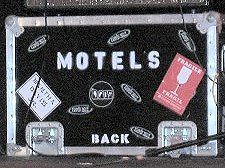 The Motels suitcase