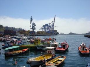Valparaiso fishing fleet