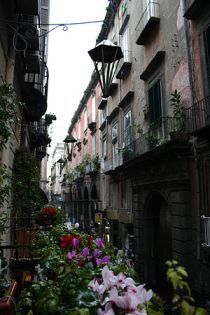 English: Historic center of Naples - Italy