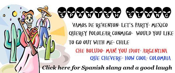 Spanish slang street talk savvy spanish slang m4hsunfo