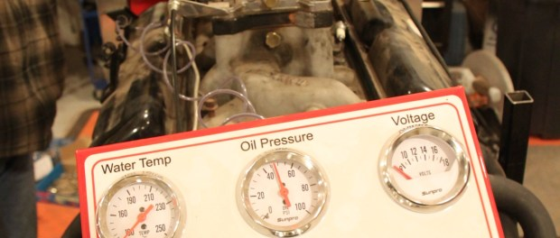 The mechanical oil pressure gauge showed over psi with just a corded drill. You should rotate the crank a few times to ensure the bearings get lubed up.