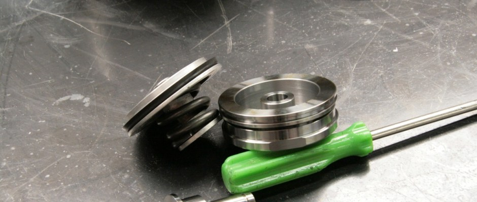 The reverse servo does not do anything for performance, but it does eliminate the breakage often found in reverse gear. Instead of a flimsy piston, the billet servo is much larger, supporting the piston in the bore. If you lose reverse all of a sudden in a 727, the stock servo is likely the culprit.