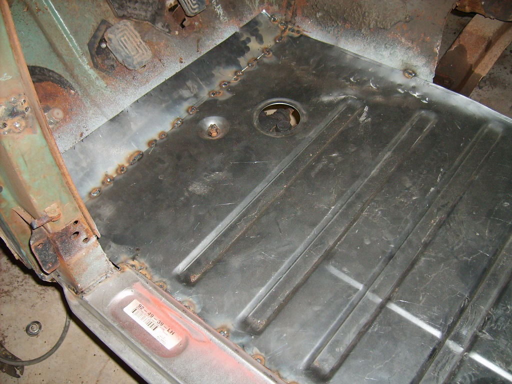 1951 Ford Floor Pan Replacement  Street Tech Magazine