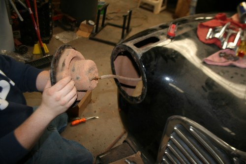 small resolution of the project started at the front of the vehicle by removing the headlight buckets