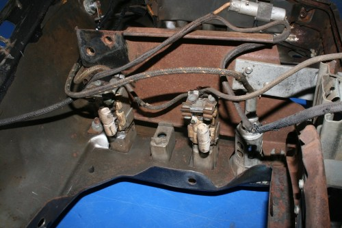 small resolution of restoration tech rewiring your classic car with cloth covered wire