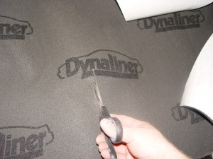 27.The foam pad installs just like the other mat, however, it is easily cut with scissors.