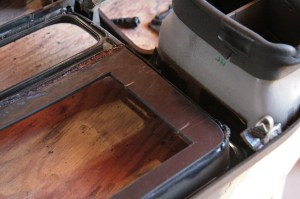 15.I transferred those marks to the backside of the bezel. This will be important later.