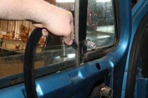 8. This process is not very easy with the window in place. We tried, it didn't work out to well.