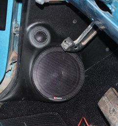 the boston speakers were mounted into the q logic kick panels these [ 1901 x 1268 Pixel ]