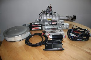 The big items for this project are the blower and EFI. Holley includes a complete wiring harness that makes installation a breeze. A slick HP electric in-line fuel pump also makes it simple to install EFI on a carburetor plumbed car. We decided to use a blower cam to maximize the potential. Comp Cams makes a version of their 268 grind that is specifically for blowers.