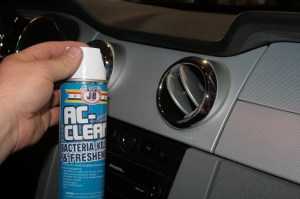 10.Mold and bacteria in your AC ducts is not good for you, not to mention the smell. Unless you like the smell of sweaty gym socks stored at 130-degrees, freshen up your AC vents with Justice Brother's AC-Clean. It works on ashtrays too.