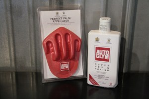 12.Another great product from AutoGlym is the Super Polish. If you need to remove scratches or swirl marks, this is the stuff you want. The Perfect Palm Applicator makes it easy and less tiresome to apply any polish.