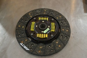 The springs in the center help reduce clutch chatter