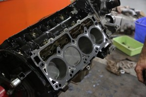 27. All HEMI engines use MLS (multi-layered steel) head gaskets, which are reuseable. We swapped out for new ones just for sport.
