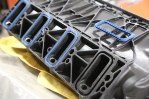 34. There two types of LS intake gaskets, either individual o-rings like this FAST intake, or all-in-one gaskets with all 4 ports on a single gasket. If you have the wrong type, you may be waiting for them to show up, sidelining your build.