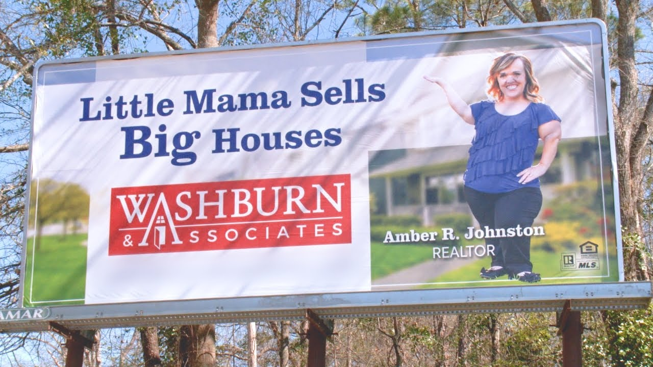 This is probably the best example of a good billboard here. Here Amber is playing on her strength in a fun way to communicate her benefit to home sellers. It's simple, clear and makes home sellers want to work with her.