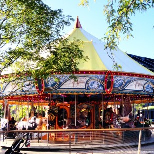 merry go round - Christopher Columbus Waterfront park, boston