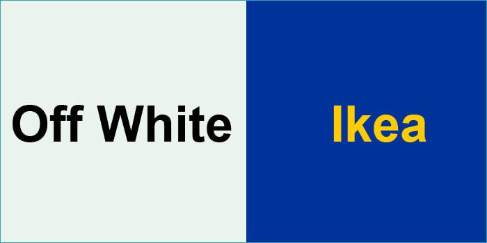 Off White x Ikea