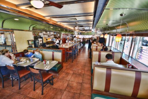 Court Square Diner Interior