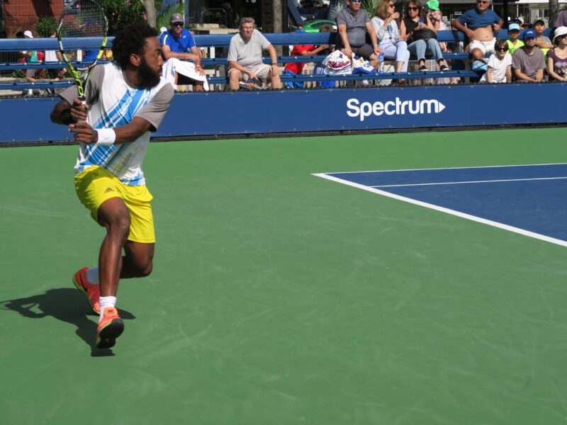 US Open Qualifying Tournament (showed here) is free and open to the public.