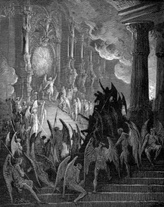 gustave-dore-paradise-lost-lucifer-rally-drawing-painting