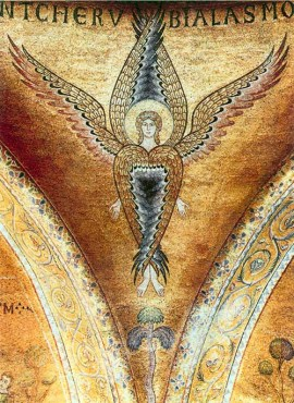 fresco-seraphim-12th-century-painting-drawing